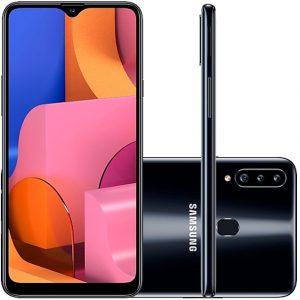گوشی موبایل سامسونگ مدل Galaxy A20S ظرفیت 32 گیگابایت دوسیم کارت