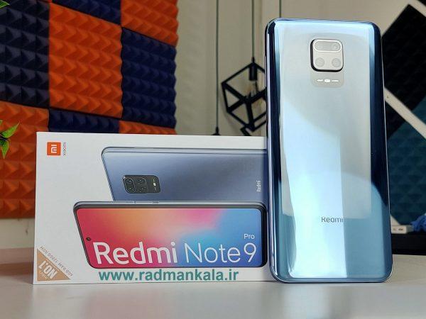 گوشی موبایل شیائومی Xiaomi Redmi Note 9 Pro با ظرفیت 64 گیگابایت بهمراه گارانتی و پک گلوبال