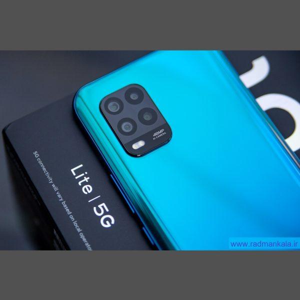 گوشی موبایل شیائومی Mi 10 lite 5G با ظرفیت 128 گیگابایت بهمراه گارانتی و پک گلوبال
