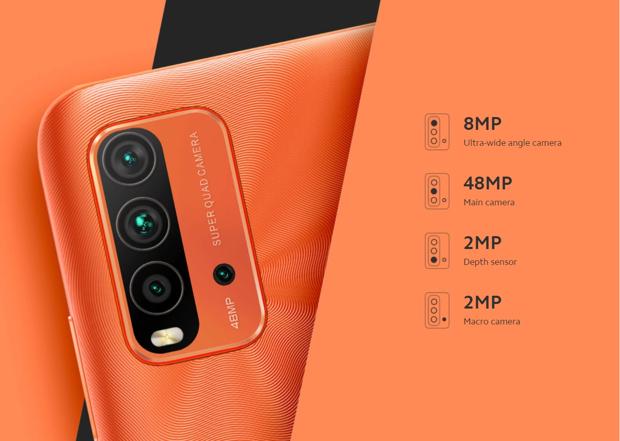 گوشی موبایل شیائومی Xiaomi Redmi 9T با ظرفیت 128 و رم 6 گیگابایت بهمراه  گارانتی و پک گلوبال - رادمان کالا